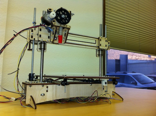 Assembled Printrbot Plus