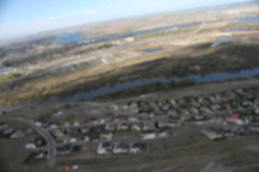 Blurry shot of Yakima and Columbia rivers